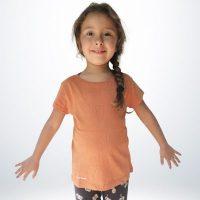 T-shirt Fille Coton Bio