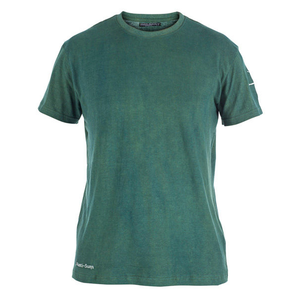aa9c5396eeb1 ... Men Forest Green Hemp T-Shirt. Indigofera ...