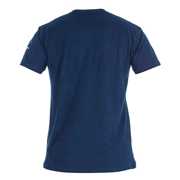 Men night blue hemp t shirt nunti sunya for Mens hemp t shirts
