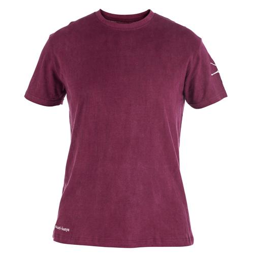 Purple environmentally friendly mens t shirt for Mens hemp t shirts