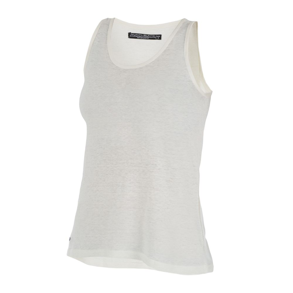 T-Shirt Débardeur Chanvre Femme Blanc - Nunti